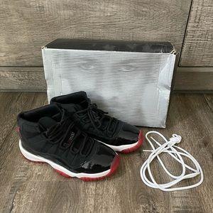 Nike air Jordan 11 xi retro bred 2001 6.5 w 5 y